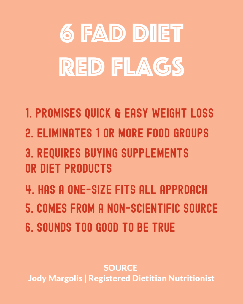 6 fad diet red flags