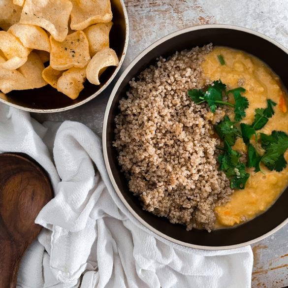 Yellow Lentil Curry Recipe Instant Pot